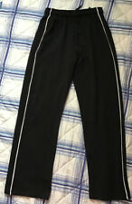 Ladies Black Training Pants. Size 10 Short. By M & S.