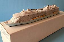 MODEL cruise ship QUANTUM OF THE SEAS ocean liner 1/1250 scale by SCHERBAK, USA