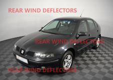 SEAT TOLEDO mk2/LEON mk1 1998-2005 REAR set Wind Deflectors TINTED RAIN GUARDS