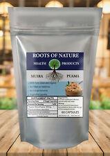 Raíces De La Naturaleza-Orgánico Muira puama 60 cápsulas vegetales