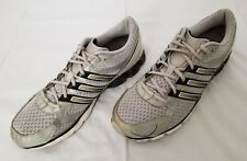 Mens Size 11 Grey White Black Adidas Bounce Running Shoes G05329 preowned