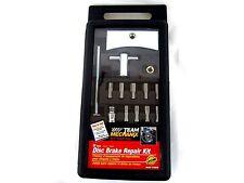 Team Mechanix 12 Piece Disc Brake Repair Kit Pad Spreader