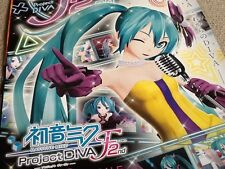 Rare Japanese Shop Poster HATSUNE MIKU PS3 Project Diva F 2nd SEGA Video Game