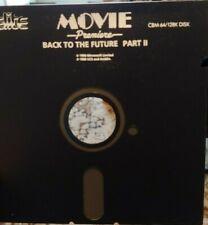 Back to the Future Part II (Elite 1990) Commodore c64 (disquette) 100% OK