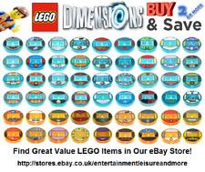 Carácter LEGO dimensiones toytag sólo disco: -- enorme colección!!! --