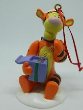 Disney Bouncing Tigger with Presents Christmas Ornament with Box