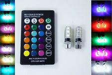 MultiColor LED Parkers with Remote Control for Toyota RAV4 Fortuner