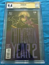 Catwoman #40 - DC - CGC SS 9.4 NM - Signed by Jim Balent - Batman