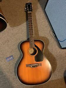Aria Vintage Acoustic Guitar Made In Japan Auditorium C713? G713?