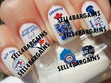 MLB TORONTO BLUE JAYS BASEBALL LOGOS》10 Different Designs》Tattoo Nail Art Decals
