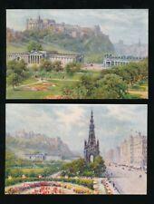 Scotland Midlothian EDINBURGH Tuck Oilette x4 c1900/10s? PPCs