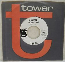 FREAKBEAT PSYCH THEM I HAPPEN TO LOVE YOU RARE WL PROMO TOWER 384 M- 1967 RARE