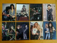 8 8X11 POSTER OF MOTLEY CRUE GIRLS 1987 ERA,SIXX,NEIL,LEE & GUNS R ROSES S.ADLER