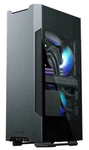 Phanteks Evolv Shift 2 Mini-ITX case, Tempered Glass Side Panels, Aluminum Panel