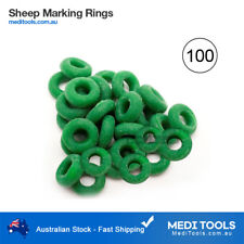 100 x Bainbridge Marking Rings, Castration, Tail Banding,Sheep/Cattle/Farm/Bands