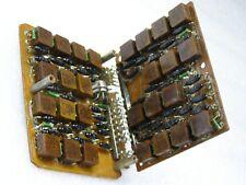 USSR Double foldable Ferrite Memory (Logic?) Board 27 ferrite-diode cells 1973