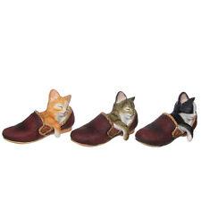 Leonardo Collectable Cat Ornament ~ Cat Nap ~ Tabby Grey Sleeping Kitten LP15500
