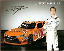 Two ARRIS NASCAR Photocards, Daniel Suarez and Carl Edwards