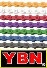 YBN Single-Speed Kette S410-Blau für Eingang und Getriebe Naben