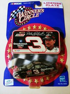 WINNER'S CIRCLE 2000 DALE EARNHARDT #3 LICENSE PLATE COLLECTION  NASCAR
