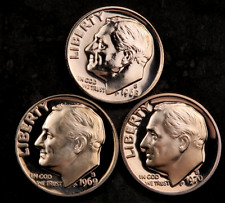 1980 P+D UNCIRCULATED ROOSEVELT DIMES NICE COIN STILL IN MINT CELLO L@@K