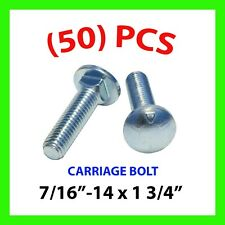 100 Qty 5//16-18 x 2 Long Carriage Bolts Set w//Nuts /& Washers SNG314 SNUG Fasteners