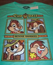 VINTAGE STYLE WALT DISNEY CHIP 'N' DALE RESCUE RANGERS T-Shirt LARGE NEW w/ TAG