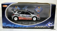 SOLIDO 1/43 - 1586 PEUGEOT 206 WRC 2002 NESTE RALLY DIECAST MODEL CAR