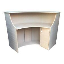 Large Curved MDF Shop Counter/ Reception Desk/ Salon Reception Desk/ Barbers