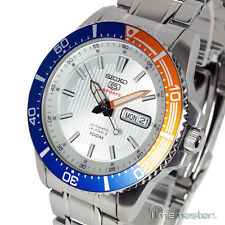 SEIKO 5 SPORTS AUTOMATIC SILVER FACE DIVERS STYLE SRP549J1 SRP549J