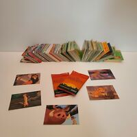 Skybox Lion King Trading Cards Lot of 2 packs + 200+ loose cards - Disney