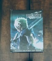 Final Fantasy VII 7 Remake Hard Cover Art Book First Class Deluxe Edition