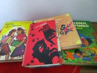 5 Kinderbücher - Zacharias Walfischzahn, Die Pfoten Spur + .. von 1961-1971 /S99