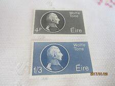 Irlanda 1964 Nuovo di zecca N H Set Di 2 S G 199-200 Wolfe Tone 17/ISB