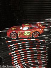 Carrera GO!!! 64000 Cars Lightning McQueen Neon Luce Nuovo Top Sotto Pavimento Luce