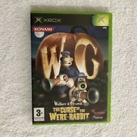 Wallace and Gromit The Curse of the Were-Rabbit Video Game Microsoft Xbox 2005
