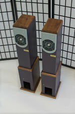 FIBHORN Model 7 audiophile speaker pair, TANG BAND or FOSTEX drivers