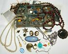 Nice Antique Vintage Jewellery Job Lot, Agate - Gemstones - Earrings - Necklace
