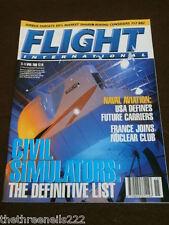 FLIGHT INTERNATIONAL # 4723 - CIVIL SIMULATORS - APRIL 11 2000 # 4723