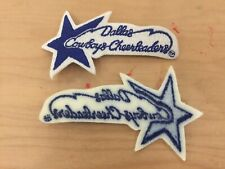 DALLAS COWBOY CHEERLEADER PATCH, NEW OLD STOCK, 1970'S