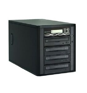 Spartan Edge 1-3 DVD CD +/-R Disc Copier D03-SSP Easy to Copy Record Duplicator