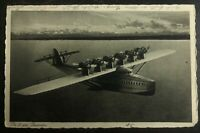 1930 Konstanz Germany RPPC Postcard Cover To Aachen Do X Flying Boat In Bodensee