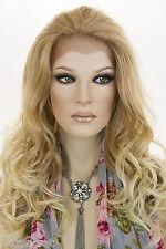 Long Lace Front Heat Friendly Wavy Blonde Brunette Red Wigs
