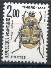 STAMP / TIMBRE DE FRANCE TAXE N° 107 ** INSECTES / COLEOPTERES