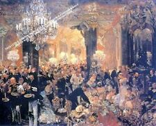 Supper At The Ball by Adolph von Menzel Artwork by Selby Prints