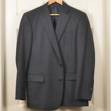 🇺🇸 BrooksBros 44R Regent 1818 2-Button Saxxon Wool Single Breasted Suit