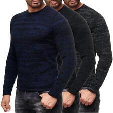Maglioni da uomo a righe in misto lana