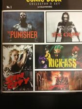 Comic Book Collector's Set (The Punisher/The Crow/Kick Ass/Sin City/The Spirit)