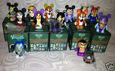 "Disney Vinylmation 3"" VILLAINS #2 Set of 11 + Mother Gothel chaser + variant NEW"