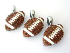 10pcs Rhinestone American Football Hang Pendant Charms DIY Necklace/Phone Strip